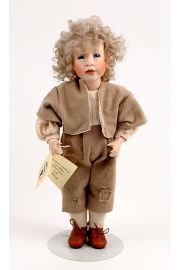 Collectible Limited Edition Porcelain doll Oliver Twist by Wendy Lawton