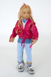 Collectible Limited Edition Vinyl soft body doll Runi II by Annette Himstedt