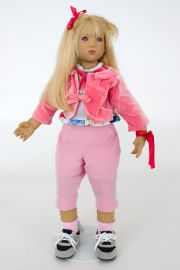 Collectible Limited Edition Vinyl soft body doll Runi by Annette Himstedt