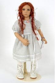 Collectible Limited Edition Vinyl soft body doll Marlie by Annette Himstedt