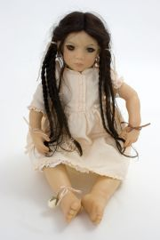 Collectible Limited Edition Vinyl soft body doll An-Mei by Annette Himstedt