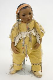 Collectible Limited Edition Vinyl soft body doll Takuma by Annette Himstedt