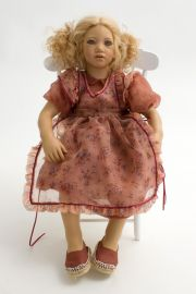 Collectible Limited Edition Vinyl soft body doll Lina by Annette Himstedt