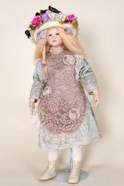 Collectible Limited Edition Porcelain soft body doll Kashin by Cindy Koch