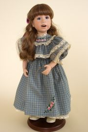 Collectible Limited Edition Porcelain doll Molly Jo by Julie Good Krueger