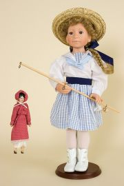 Collectible Limited Edition Vinyl doll Pollyanna by Julie Good Krueger