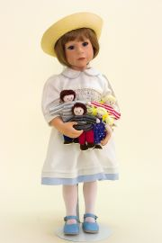 Collectible Limited Edition Vinyl doll My Little Family by Julie Good Krueger