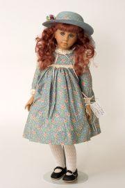 Collectible Limited Edition Vinyl soft body doll Melanie by Linda Mason