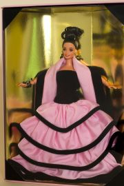Escada Barbie - collectible open edition vinyl fashion doll by doll artist Mattel.