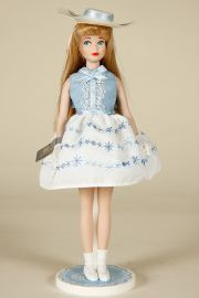 Skipper - limited edition porcelain collectible doll  by doll artist Mattel.
