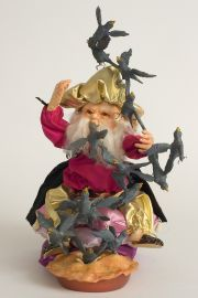 Four and Twenty Blackbirds - collectible limited edition resin art doll by doll artist Hal Payne.