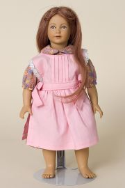 Sonja - limited edition vinyl soft body collectible doll  by doll artist Heidi Ott.