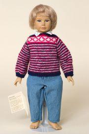 Heinz - limited edition vinyl soft body collectible doll  by doll artist Heidi Ott.
