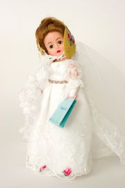 Empire Bride - limited edition vinyl collectible doll  by doll artist Madame Alexander.