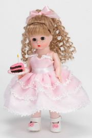 Happy Birthday Blonde (35935) - limited edition vinyl collectible doll  by doll artist Madame Alexander.