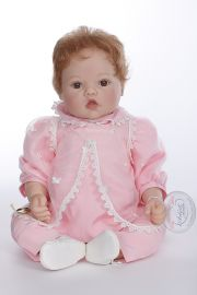 Butterfly Dreams - collectible limited edition vinyl soft body play doll by doll artist Lee Middleton.
