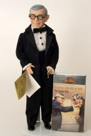 George Burns - limited edition vinyl collectible doll  by doll artist Effanbee.
