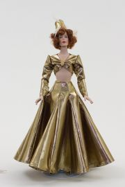 Cleo - The Big Broadcast - collectible limited edition porcelain fashion doll by doll artist Robert Tonner.