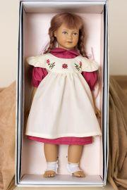 Heidi - open edition vinyl soft body collectible doll  by doll artist Heidi Ott.