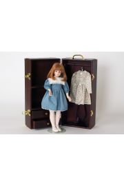 Amanda - limited edition vinyl collectible doll  by doll artist Alice Lester.