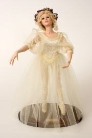 Maya - collectible limited edition porcelain art doll by doll artist Patricia Rose.