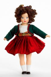 Tiny Betty - Christmas (49025) - limited edition vinyl collectible doll  by doll artist Madame Alexander.