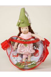 Waldorf Mini It's Me - Garden - collectible open edition cloth play doll by doll artist Kathe Kruse.