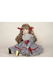 S-and-H-repro 117A - limited edition porcelain collectible doll  by doll artist J.B. Dolls.