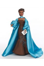 Violet Waters Blues in the Night 94445 - collectible limited edition vinyl hard fashion doll by doll artist Mel Odom.