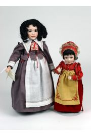 Scarlett Letter Set - limited edition porcelain collectible doll  by doll artist Wendy Lawton.