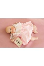Meghan - limited edition porcelain soft body collectible doll  by doll artist Wendy Lawton.