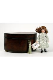 Electra Grace - limited edition porcelain collectible doll  by doll artist Wendy Lawton.