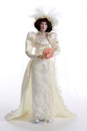 Jennifer Bride 60198 - limited edition porcelain soft body collectible doll  by doll artist Ashton-Drake.