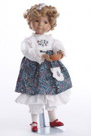 Goldilocks - limited edition porcelain soft body collectible doll  by doll artist Ashton-Drake.