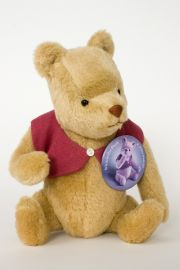 Classic Pooh - collectible limited edition felt molded bear or plush piece by artist R John Wright.