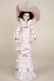 Anna - limited edition porcelain soft body collectible doll  by doll artist Francirek and Oliveira.