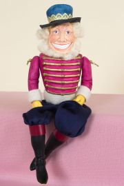 The Nut Cracker - collectible limited edition resin art doll by doll artist Kathryn Walmsley.