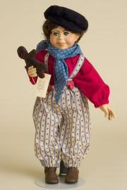 Hansel - limited edition resin collectible doll  by doll artist Faith Wick.