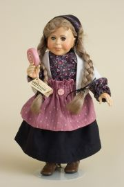 Gretel - limited edition resin collectible doll  by doll artist Faith Wick.