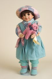 Gabriella - limited edition resin collectible doll  by doll artist Faith Wick.