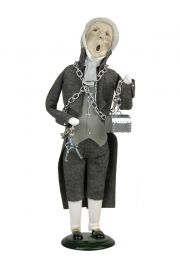 Marley's Ghost - collectible limited edition mixed media caroler figurine by Byers' Choice, Ltd.