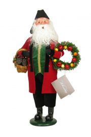 Colonial Holiday Man - collectible limited edition mixed media caroler figurine by Byers' Choice, Ltd.