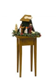 Nativity Table - collectible limited edition doll furniture accessory by Byers' Choice, Ltd.