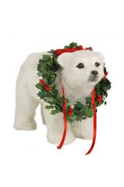 Polar Bear Cub - collectible limited edition figurine by Byers' Choice, Ltd.