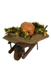 Harvest Wheelbarrow - collectible limited edition doll accessory by Byers' Choice, Ltd.