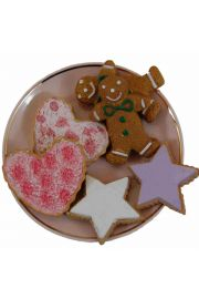 Set of 6 Cookies for American Girl Doll Food