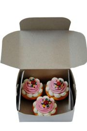 Set of 3 Cupcakes for 18in American Girl Doll
