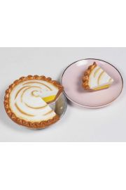 Lemon Meringue Pie Doll Food For 18in American Girl Doll Accessory