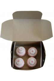 Set of 4 Mini Cupcakes for 18in American Girl Dolls