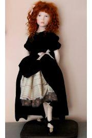 Lizzie OOAK cernit doll (full length)